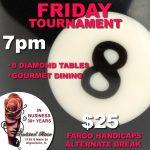 8 ball tournament