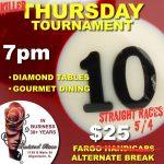 10 ball tournament